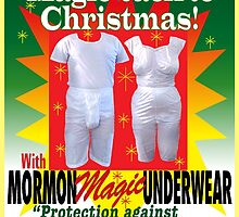 Mormon Underwear...Incredible but true! by atheistcards