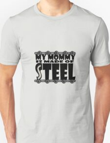 My Mommy Is Made Of Steel - Scoliosis Awareness T-Shirt