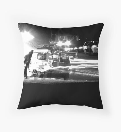 EMERGENCY SITUATION Throw Pillow