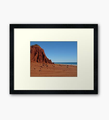 Price Point, Western Australia Framed Print