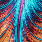 psycadelic feather by Diana Calvario