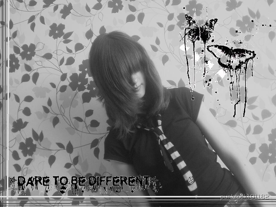 Dare to be different by punkrock101182