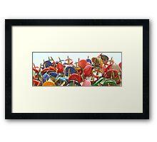 Pin-Up Framed Print