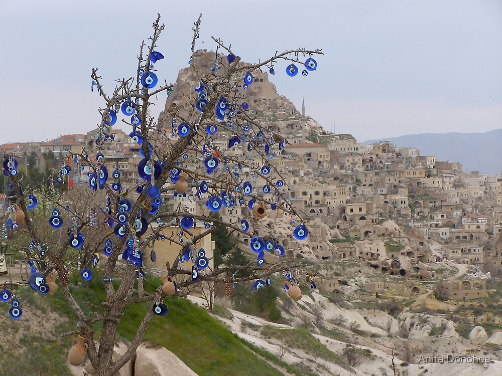 Evil Eye Tree by Anita Donohoe