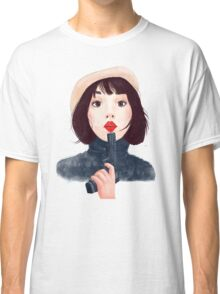 French woman with gun Classic T-Shirt
