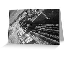 Infrared Railway Greeting Card