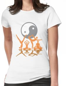 YOGA TEES Womens Fitted T-Shirt