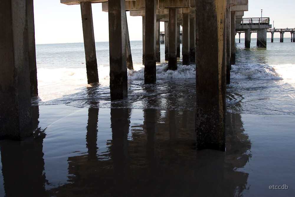 piers, beach by etccdb