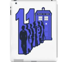 11 Steps forward iPad Case/Skin
