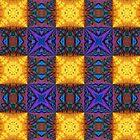 Rainbow Checkerboard by PandemoniumPrya