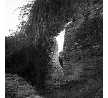 Roman wall Photographic Print