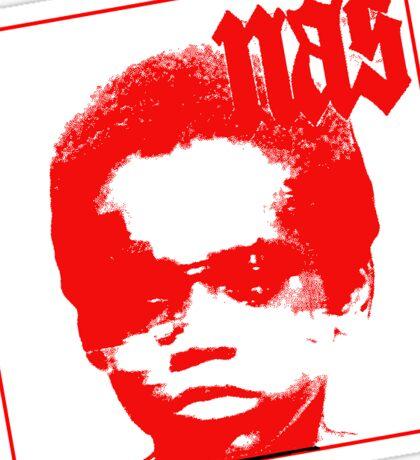 Red Nas Sticker