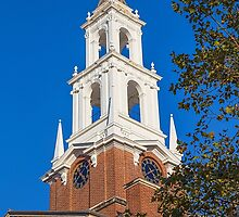 USA. Connecticut. New Haven. Yale University. Tower. by vadim19
