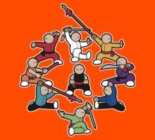 The Wushu Family Kids Tee
