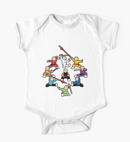 The Wushu Family One Piece - Short Sleeve