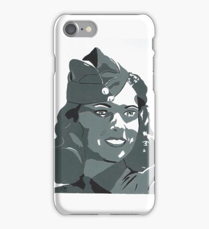 WWII Portrait iPhone Case/Skin