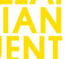 Doran Martell Typography series II Sticker