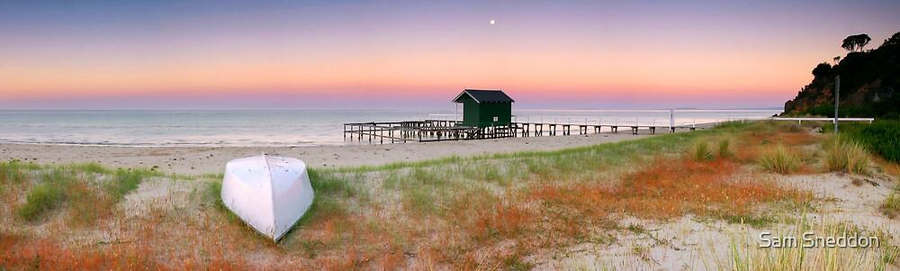 Shelley Beach by Sam Sneddon