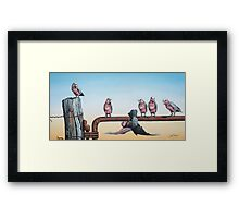 Mum's Spinning Out! Framed Print