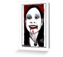 Vicky Vampire Greeting Card