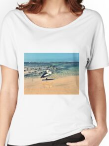 Pelican at Lennox Head Women's Relaxed Fit T-Shirt
