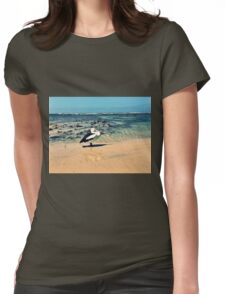 Pelican at Lennox Head Womens Fitted T-Shirt