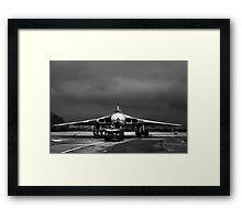 Vulcan Bomber Xm655 Framed Print