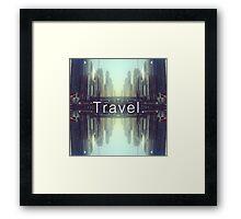 Travel. Dubai Framed Print