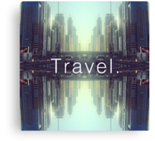 Travel. Dubai Canvas Print