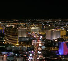 Aerial Las Vegas Strip - March 2006 by urbanphotos