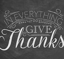Give Thanks by Leah Price