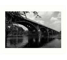 Gervais stree bridge #2 Art Print