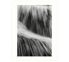 Flowing Water Art Print