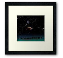 Twilight-Tranquillity Base Framed Print