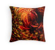 Fizzy Phoenix Throw Pillow
