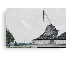 America is... Canvas Print