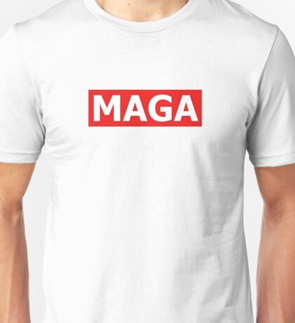 MAGA - OBEY Style Logo - Clothing & Accessories Unisex T-Shirt