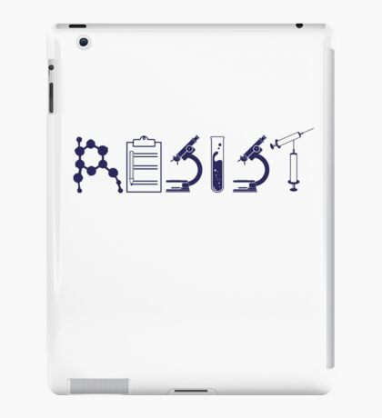 Resist – Science Political Protest iPad Case/Skin