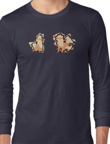Growlithe, Arcanine Long Sleeve T-Shirt