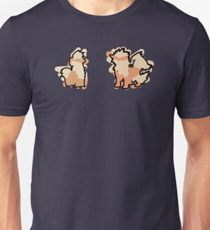 Growlithe, Arcanine Unisex T-Shirt