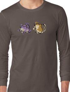 Rattata Raticate Long Sleeve T-Shirt