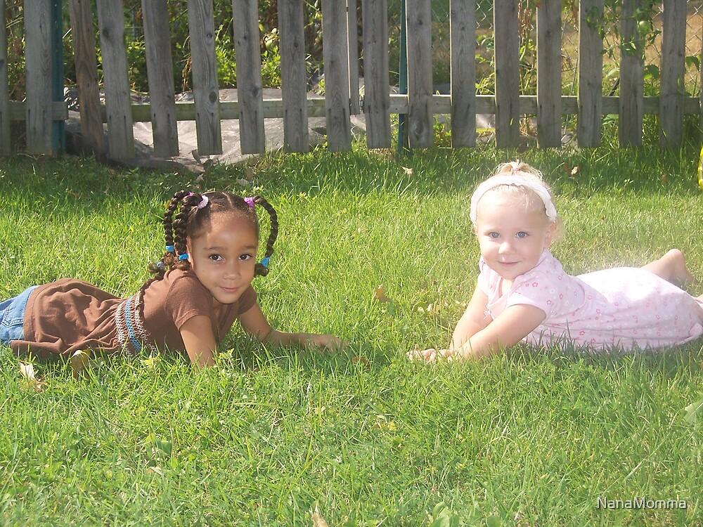Makayla and Zoe by NanaMomma