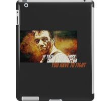 BSG Fight Club iPad Case/Skin
