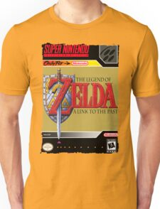 The Legend of Zelda: A Link to the Past Super Nintendo Collection Unisex T-Shirt
