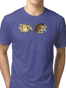 Sandshrew, Sandslash Tri-blend T-Shirt