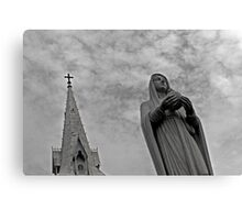 Notre Dame Cathedral, Ho Chi Minh City Canvas Print