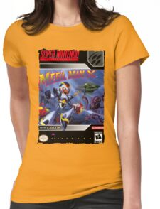 Megaman X Super Nintendo Collection Womens Fitted T-Shirt