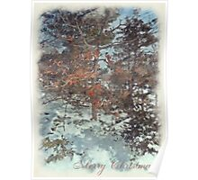 Beautiful Branches - Merry Christmas Poster