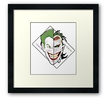 Muse of Gotham City Framed Print