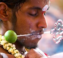 Thaipusam devotee, Singapore by delsol